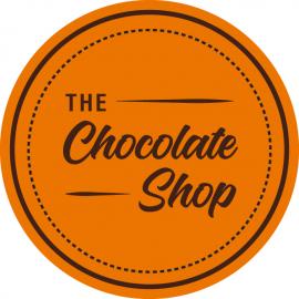 the chocolate shop logo